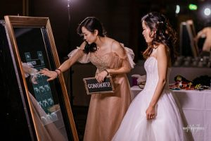 wedding mirror yarra valley