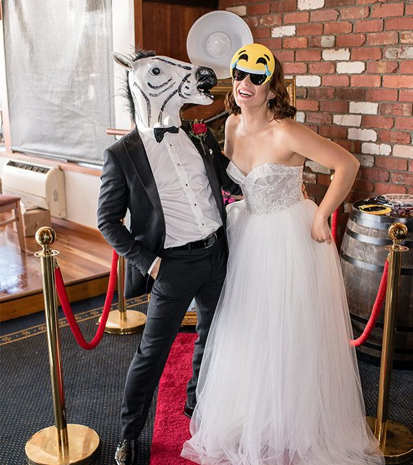 The Zebra & Unicorn Props – Unique Photo Booth Melbourne