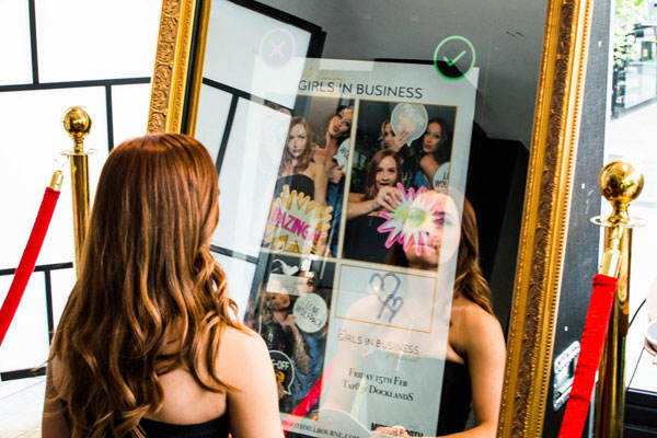 Mirror Photo Booth Melbourne - Corporate Photo Booth Hire